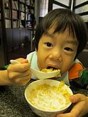 2011-November-2幸福的果實:11/20 居家~早餐時間 (3歲11個月)