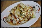 桃園美食:20100416林口唐府手工麵館-燙高麗菜