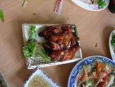 嘉義美食:20080706嘉義觸口阿和甕仔雞-脆皮大腸(優勒)