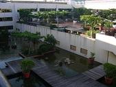 五星旅館住宿:20090719墾丁福華飯店-二樓水池