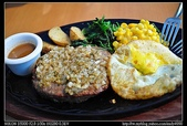 台北美食:20100822台北美麗華-薩莉亞義式餐飲-莎莎醬漢堡排