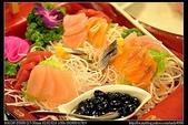 桃園美食:20101120桃園龍潭王朝餐廳-大船生魚片