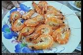 桃園美食:20110724桃園竹圍漁港石龍海產店-沙蝦