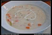 台北美食:20100822台北美麗華-薩莉亞義式餐飲-海鮮巧達湯