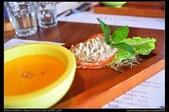 新竹美食:20130515尖石薰衣草森林-鮪魚羅蔓沙拉及濃湯