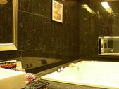汽車旅館:20090720台南假日汽車旅館705亞曼尼四人房-浴室