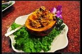 南投美食:20130212埔里牛相觸花園餐坊-南瓜堅果養生盅