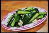 苗栗美食:20121120三義賴新魁麵館-小黃瓜