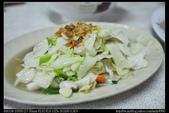 彰化美食:20110910彰化二水阿明火燒麵-高麗菜