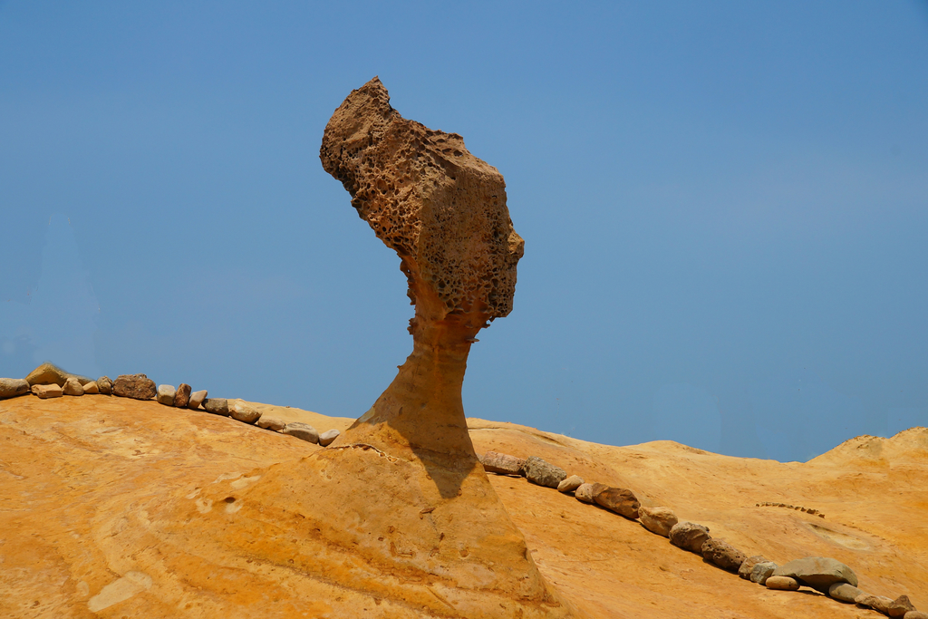 野柳地質公園:女王頭