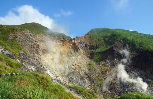 小油坑噴氣孔 - 陽明山遊園景點