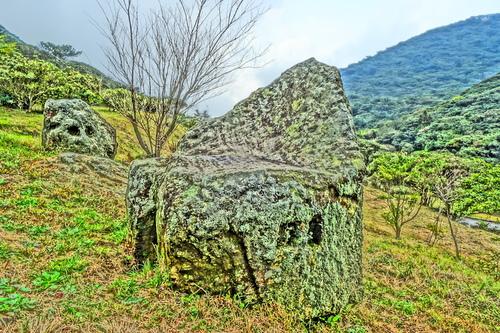 大自然公園石椅 - 陽明山遊園景點