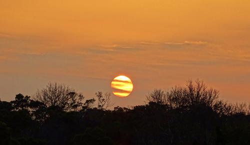 第二停車場觀賞日落 - 陽明山遊園景點