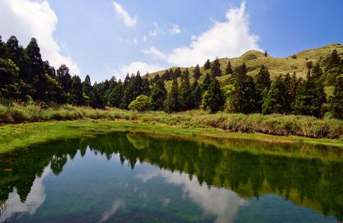 夢幻湖 - 陽明山遊園景點