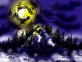 繪畫連篇的東西 (不定期更新):月暈
