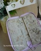 小物:紫玫瑰長夾2