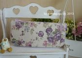 小物:紫玫瑰長夾1