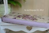 小物:紫玫瑰長夾3