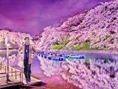photoshop作品:湖中映色.jpg