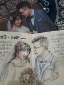 2020生活速寫(我思故我畫):【20200103 淡彩 / 婚。不婚】 報紙臨摹練習