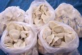 日照小館的特色:50粒裝的冷凍餃