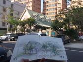 2019每日一畫 / 生活速寫【1至3月】:20190326 淡彩 / 新埔七街幼兒園