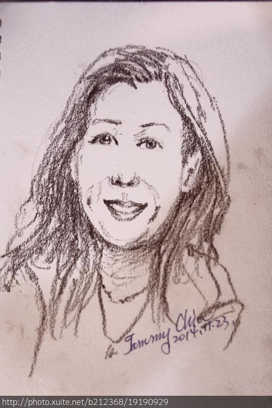 我畫這些人 / 學生、友人、家人速寫練習曲:101_0708.JPG