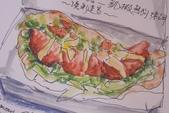 2014年我的生活速寫 / 圖畫日記:摩斯漢堡的餐點