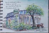 2014年我的生活速寫 / 圖畫日記:淡彩速寫 / 真鍋咖啡館