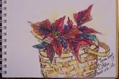 我手繪的耶誕卡。與名片。卡片:100_6532.JPG