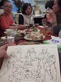 2017.01.28 春節開始的 生活速寫:1/30 淡彩速寫:秀峰同學會聚餐 / 敘舊