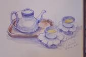 2014年我的生活速寫 / 圖畫日記:喫茶趣的桂花金萱茶