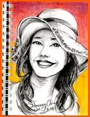 大紀元 彩繪生活 / 圖文專欄 相片(1至50):彩繪生活(37)戴帽子的女人