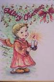 我手繪的耶誕卡。與名片。卡片:2011手繪聖誕卡