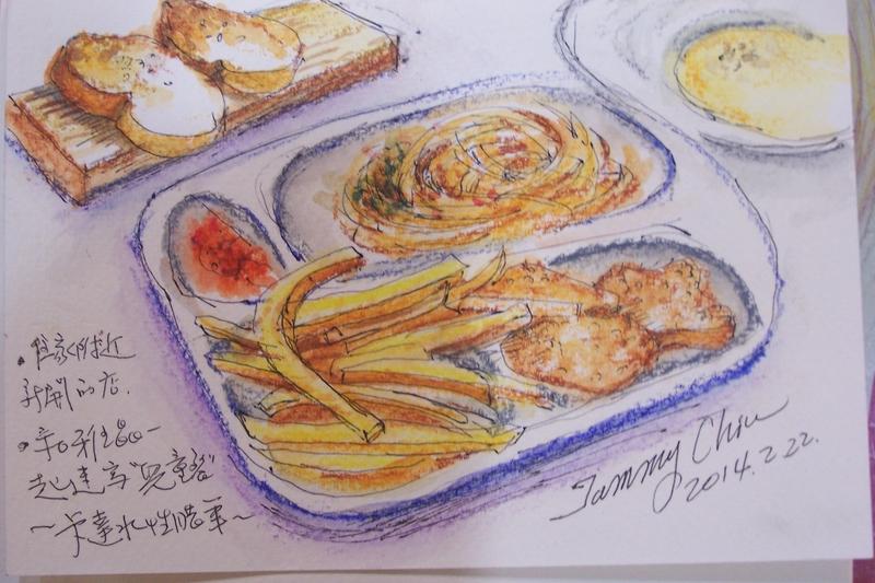 在咖啡館,優雅自在的畫畫與速寫。:100_9925.JPG