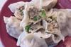 韭菜花豬肉水餃