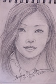 2014畫作回顧 / 線上展出:鉛筆人物素描