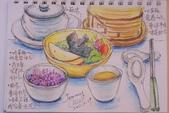 2014年我的生活速寫 / 圖畫日記:喫茶趣的淡彩速寫