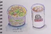 2014蘆竹農會家政班 / 生活彩繪課2 【透明水彩】:學生的水彩小品