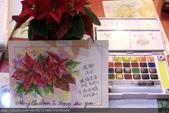 我手繪的耶誕卡。與名片。卡片:手繪2014聖誕卡 / 明信片