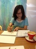 2014蘆竹農會家政班 / 生活彩繪課2 【透明水彩】:家政班同學畫畫中