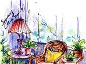 大紀元 彩繪生活 / 圖文專欄 相片(1至50):彩繪生活(28)窗內窗外的風景