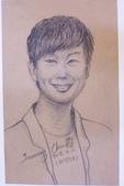 2015年〈1月至2月〉生活速寫 / 手繪日記:2015/058 人物素描練習:色鉛筆 / 藝人 林俊傑