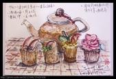 2014年我的生活速寫 / 圖畫日記:12/9和格友喝下午茶