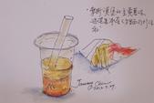 2014年我的生活速寫 / 圖畫日記:摩斯漢堡的飲料