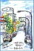 大紀元 彩繪生活 / 圖文專欄 相片(1至50):彩繪生活(38)寂靜的街景