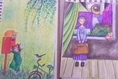 2014蘆竹農會家政班 / 生活彩繪課2 【透明水彩】:學生的水彩小品 / 臨摹仿畫幾米插畫