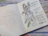 2016全年生活速寫:【2016 / 003 人物速寫練習:在椅上發呆的女孩】 鋼筆和淡彩