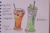 2014年我的生活速寫 / 圖畫日記:彩筆下的清涼飲品