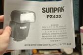 SUNPAK PZ42X閃燈開盒+測試:1647915482.jpg